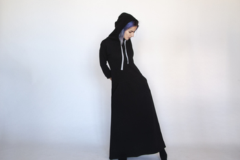 Šaty Casual Black Long