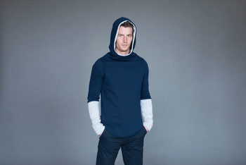 Mikina Navy/Grey Men